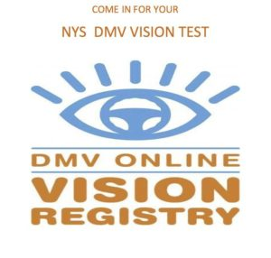 DMV Vision online poster
